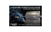 Dragon Fire Grill Print Ad